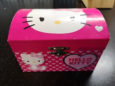 £13.99 • Buy Hello Kitty Sanrio Official Musical Jewellery Box With Necklace