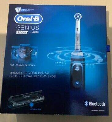 View Details Oral-B Genius 9000 Electric 6 Modes Toothbrush With 11 EXTRA HEADS - BLACK • 107.99£