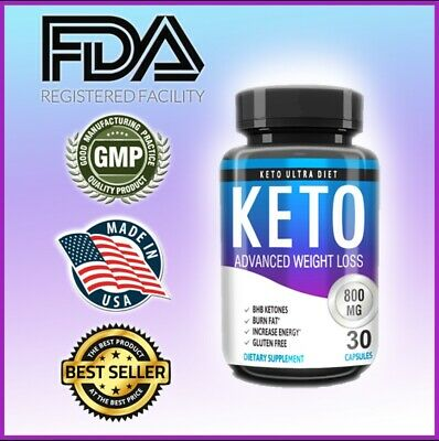 $11.99 • Buy Keto BURN Diet Caps 800 MG Ketosis Weight Loss Supplements, Boost Energy Now