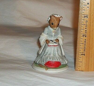 1985 Franklin Mint Woodmouse Family Figurine ELIZABETH Replacement Addition • 9.96$