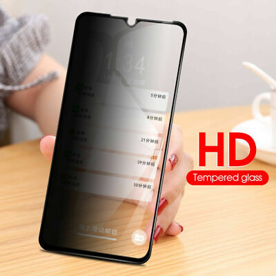 AU4.67 • Buy 10D Privacy Anti-Spy Full Tempered Glass Screen Protector For IPhone For Samsung