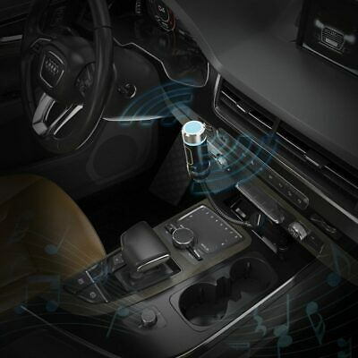 USB Wireless Bluetooth FM Transmitter Hand-free Car Kit MP3 Player Radio Adapter • 4.99£