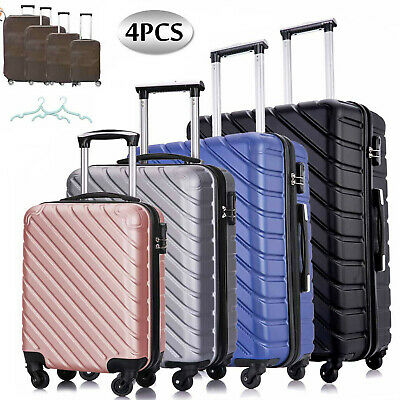 View Details 3PCS Lightweight Luggage Set Hardshell Suitcase Spinner Trolley 20'' 24'' 28'' • 72.90$