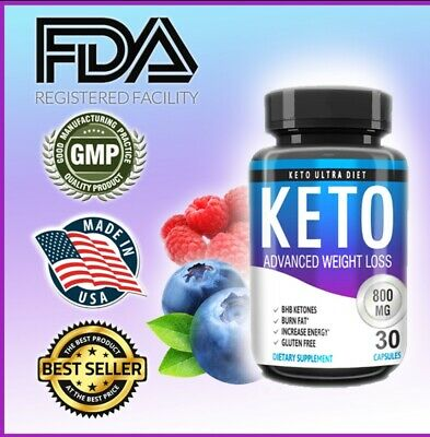 $11.42 • Buy KETO ADVANCED WEIGHT LOSS, METABOLIC KETOSIS, Boost Energy, Diet Pills USA