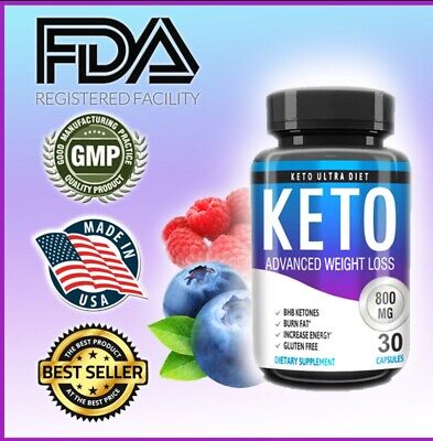 $11.77 • Buy KETO ADVANCED WEIGHT LOSS, METABOLIC KETOSIS, Boost Energy, Diet Pills USA