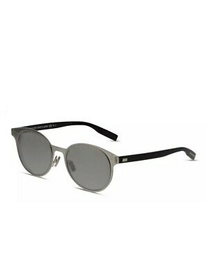 $129 • Buy Dior Homme Depth Blue Round Men's Sunglasses DIORDEPTH01 HS4/9A Made In Japan
