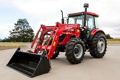 AU60500 • Buy DISPLAY MODEL 110HP Tractor 4wd, Loader, 4 In 1 Bucket, Power Shuttle