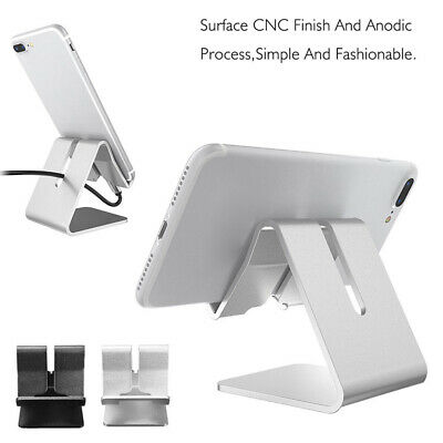 $3.75 • Buy Universal Cell Phone Tablet Desktop Stand Desk Holder Mount Cradle Aluminium US