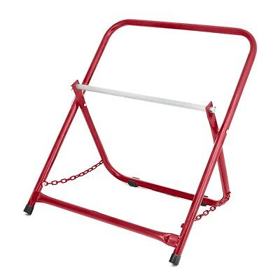 AdirPro Red Portable Electrical Wire Spool Caddy Foldable Cable Rack Holder • 29.66£