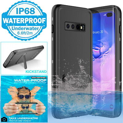 AU17.98 • Buy For Samsung S8 S9 S10 Plus Underwater Waterproof TPU Case Cover Kickstand Stand