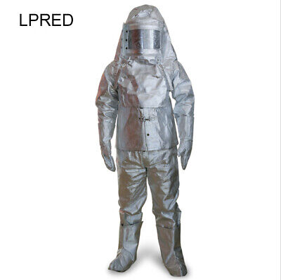 LPRED Thermal Radiation Heat Resistant Aluminized Suit Fireproof Clothes • 168$