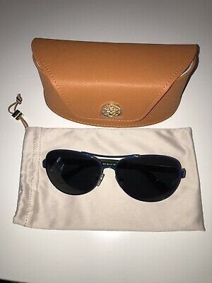 b88a8208b226 Tory Burch Sunglasses Women Blue And Gold Ty6047 • 38.00$