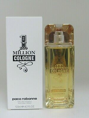 $ CDN51.87 • Buy Paco Rabanne 1 Million Men Cologne 4.2 Oz / 125 Ml Spray WITH CAP, READ LISTING