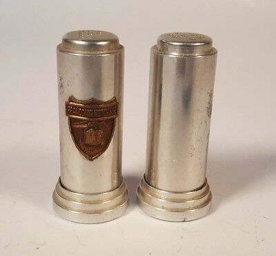 Vintage Aluminum Salt And Pepper Shakers Franconia Notch NH Aerial Tramway • 10.19$