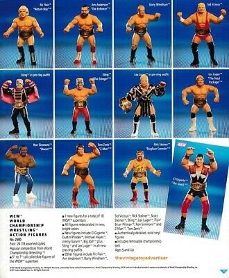 WCW Galoob Vintage Action Figures - Multibuy And Postage Discounts! • 8.99£