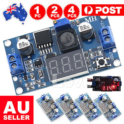 AU7.45 • Buy LM2596 DC-DC Buck Converter Adjustable Power Supply Step Down Module Multi