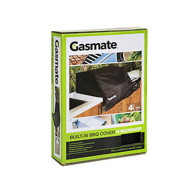 AU49.95 • Buy Gasmate Built-in 4 Burner BBQ Cover Gasmate Barbeques/BBQ Accessories/BBQ Covers