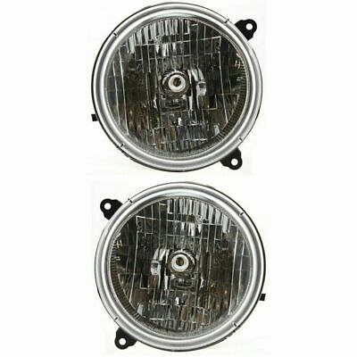 $62.25 • Buy For Jeep Liberty 2002 2003 2004 Headlights Right & Left Pair