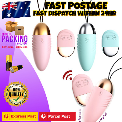 AU24.95 • Buy Remote Control Wearable Wireless Vibrator Vibrating Panties Female Egg Sex Toy