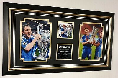 * Rare Frank Lampard Of Chelsea Signed Photo Autograph Display * Legend Display • 145£