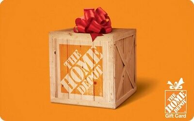 $25 • Buy The Home Depot EGift Card - $25, $50, $100 Or $200 - Email Delivery