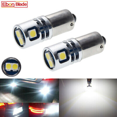 AU15.99 • Buy 2Pcs BAX9S H6W Car LED Bulb Interior Dome Side Wedge Light Lamp White 10V-30V DC