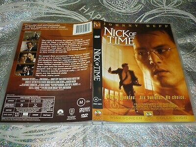 AU6.15 • Buy Nick Of Time - Johnny Depp (dvd, M) (147841 A)