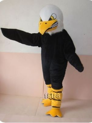 Advertising White Head Bald Eagle Adults Mascot Costume Fancy Dress Cosplay New • 188.49£