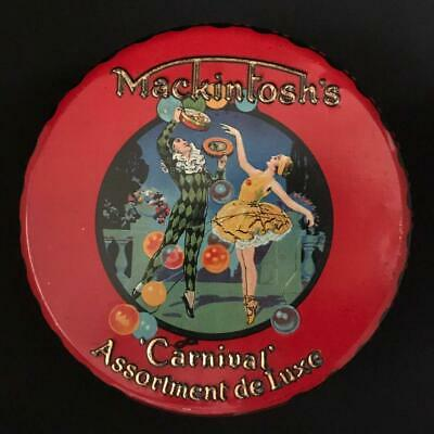 £75 • Buy Mackintosh's Carnival Toffee Tin Lithograph Advertising Pictorial Halifax