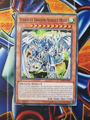 Yu-Gi-Oh Stardust Dragon/Assault Mode Common OP10-EN015 Mint Condition • 1.90£