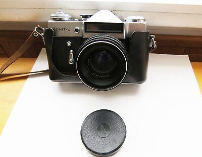 $ CDN40 • Buy Vintage Zenit -E 35 Mm Camera With Flash, Manual And Case