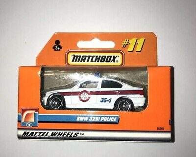 $17.95 • Buy 1999 Matchbox #11 BMW 328i Fire Police Sedan White - NEW SEALED BOX
