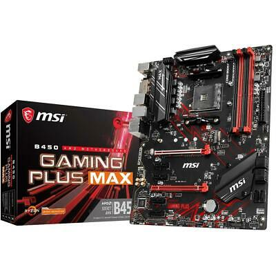 AU205 • Buy MSI B450 GAMING PLUS MAX AMD AM4 ATX DDR4  Gaming Motherboard HDMI USB 3.1 M.2