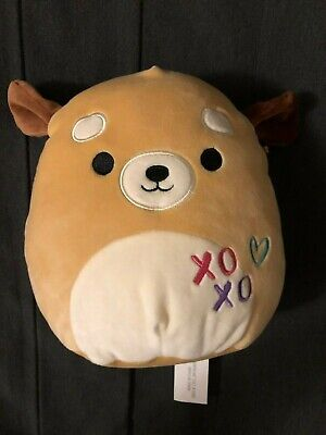$ CDN6.25 • Buy SquishMallows Squishmallow Dog Pup Brown Squeeze Cuddle Me Soft Plush Toy 9.5