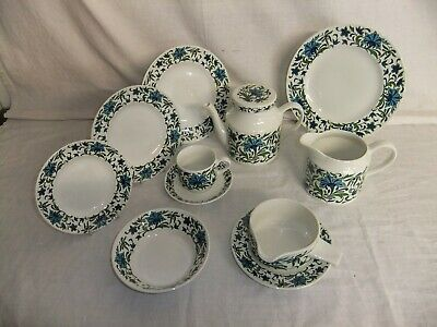 C4 Pottery Midwinter Staffordshire - Spanish Garden - 3A2A • 6.99£