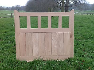 £880 • Buy Handcrafted Solid European Oak Gate 4'6  Wide X 3'6  High And Posts