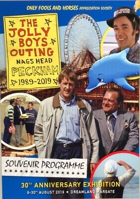 £9.99 • Buy Only Fools And Horses The Jolly Boys Outing Exhibition 2019 Programme