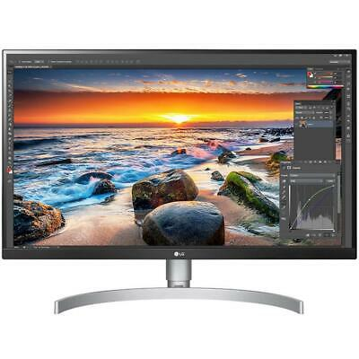 AU690 • Buy LG 27UL850-W 27  UHD Gaming Monitor 4K With Speakers HDR USB-C HDMI WHITE IPS