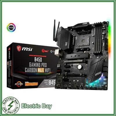 AU289 • Buy MSI B450 GAMING PRO CARBON MAX WIFI ATX Motherboard AMD AM4 DDR4 M.2 VGA HDMI