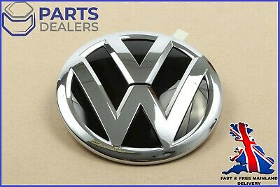 New Genuine Vw Touareg Mk2 Chrome Trunk Boot Lid Badge Emblem 7p6853630d • 39.99£