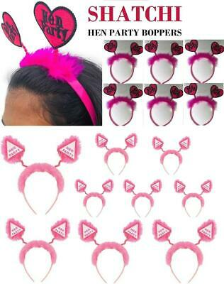 £1.99 • Buy Hen Party Head Boppers Girls Ladies Night Out Stag Do Headband Pink Accessories
