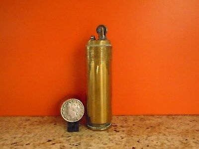 £95 • Buy A Brass WWII Trench Art Cigarette Lighter Made From A 1940 20mm Bullet Casing