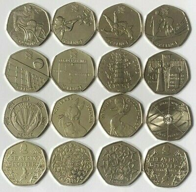£2.99 • Buy CHEAPEST 50p COINS FIFTY PENCE KEW GARDENS BEATRIX POTTER OLYMPICS BREXIT