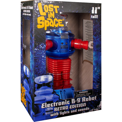 $ CDN105.62 • Buy Diamond Select Toys Lost In Space Retro B9 Robot With Lights And Sounds