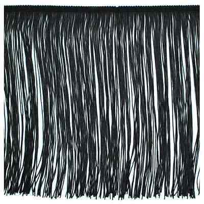 £5.76 • Buy 12  Black Chainette Fabric Fringe Lampshade Lamp Costume Trim By The Yard