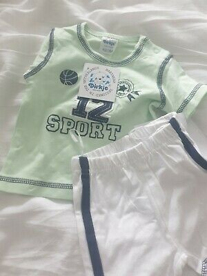 Baby Boys Shirt And  Short Suit  3months  New With Tags • 5.40£