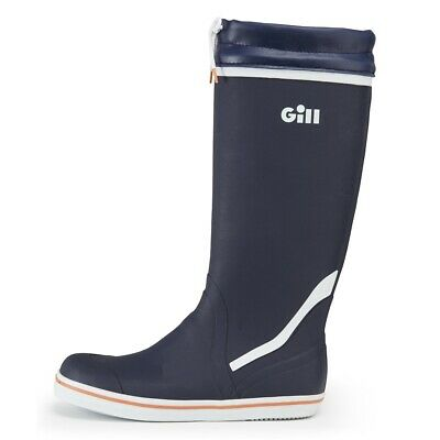 GILL Tall BOOTS: Rubber / Ultimate Comfort And Grip For On Deck Use • 49.95£