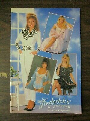 Frederick's Of Hollywood Catalog 1990 Vol 67 No 350 Lingerie Dresses Fredericks • 19.95$