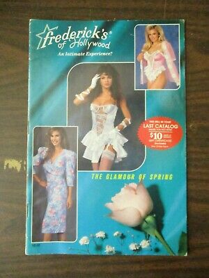 Frederick's Of Hollywood Catalog 1989 Vol 62 No 340 Lingerie Dresses Fredericks • 19.95$