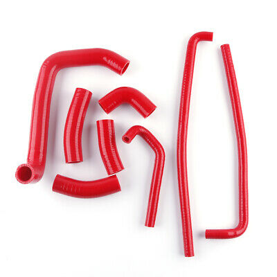 $59.98 • Buy For KAWASAKI Ninja ZX7R 1996-2003 Silicone Radiator Hose Kit Red In Stock